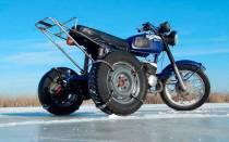 Как сделать мотоцикл трехколесный