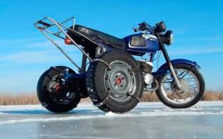 Как из мотоцикла сделать трицикл