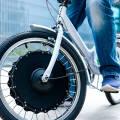 Как установить на велосипед мотор колесо