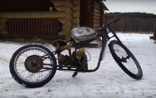 Как сделать самодельный квадроцикл из велосипеда