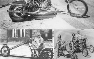 Что такое мотоцикл чоппер