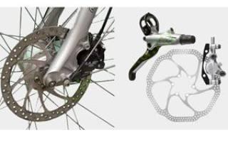 Как велосипед переделать на дисковые тормоза
