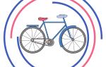 Велосипед как рисовать