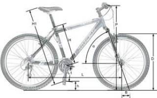 Как определить размер рамы велосипеда