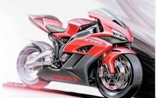 Спортивный мотоцикл как нарисовать