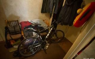 Как хранить велосипеды