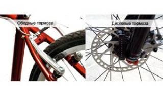 Какие лучше тормоза на велосипеде дисковые или ободные
