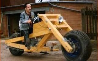 Как собрать мотоцикл своими руками с нуля