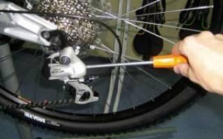 Как настроить переключение скоростей на велосипеде стелс