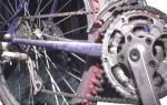 Как укоротить цепь на велосипеде без выжимки
