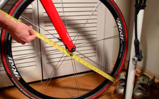 Как выбрать диаметр колеса велосипеда по росту