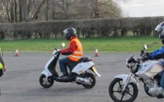 На какой объем двигателя мотоцикла не нужны права