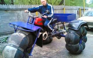 Как сделать каракат из мотоцикла