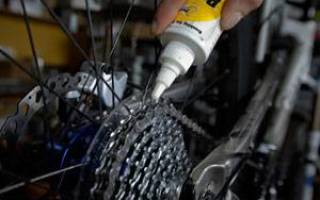 Как смазать вилку на горном велосипеде