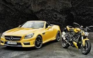 Что лучше автомобиль или мотоцикл