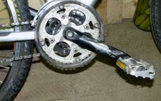 Как сделать педаль на велосипеде