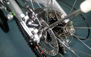 Как подтянуть тормоза на велосипеде с дисковыми тормозами