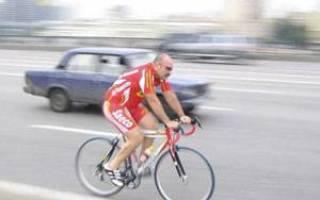 Как ехать на велосипеде по дороге