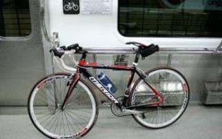 Как в метро провести велосипед
