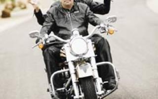 Как ездить пассажиром на мотоцикле