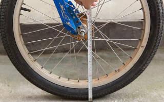 Как определить размер колеса велосипеда