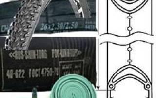 Как определить размер камеры для велосипеда