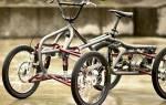 Как сделать четырехколесный велосипед своими руками