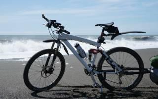 Как перевозить удочки на велосипеде