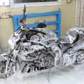 Как помыть мотоцикл