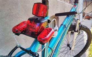 Как сделать поворотники на велосипед