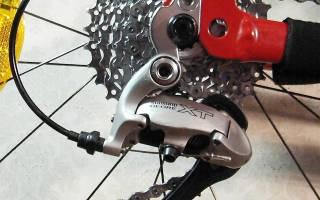 Как переключатель скоростей поставить на велосипед