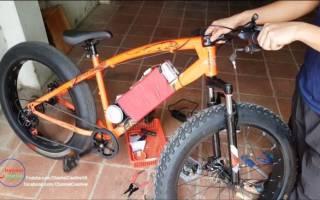 Как из обычного велосипеда сделать фэтбайк