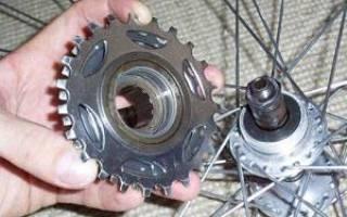 Как снять трещетку с заднего колеса велосипеда