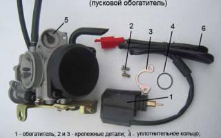 Как проверить обогатитель на 4 тактном скутере