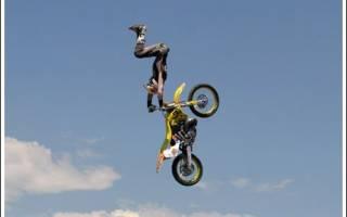 Как называется спорт на мотоциклах трюки