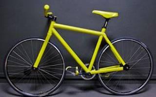 Как перекрасить велосипед в домашних условиях