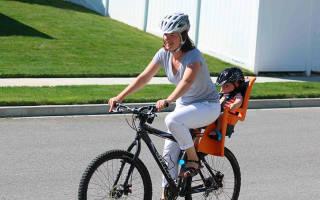 Как сделать сиденье на велосипед для ребенка своими руками
