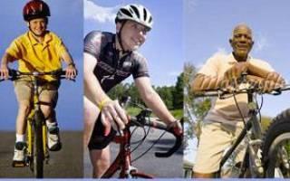 Как научиться кататься на велосипеде взрослому человеку