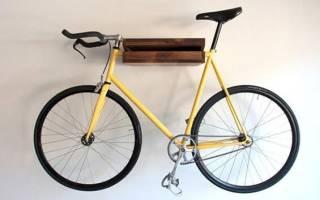 Как в гараже подвесить велосипед