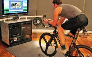 Как из велосипеда сделать велотренажер