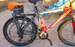 Как из бензопилы сделать мотор для велосипеда