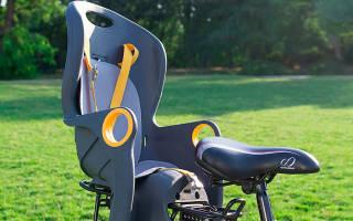 Как на велосипед установить детское кресло