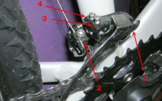 Как снять передний переключатель скоростей на велосипеде