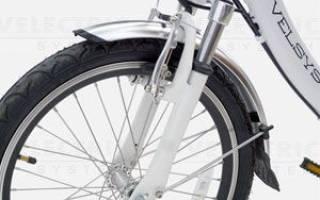 Как на велосипеде сделать вилку мягче