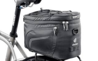 Как закрепить сумку на руль велосипеда