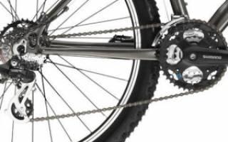 Как снять заднее колесо скоростного велосипеда