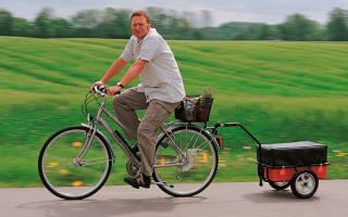 Как сделать тележку для велосипеда из дерева своими руками