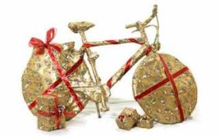 Как подарить велосипед прикольно