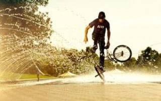 Как сделать на велосипеде трюк