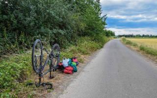 Как починить проколотое колесо на велосипеде